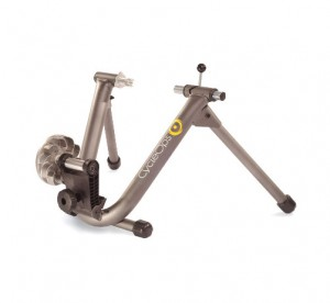 CycleOps Wind Trainer tablepress 2